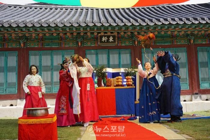 중국인부부 해미읍성서 결혼식 올려.jpg