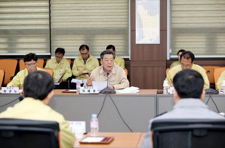 태안군,유관기관 협업강화 '코로나19예방'총력