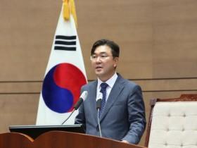 천안시의회, 민주당 황천순 의원 후반기 의장 선출