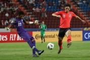 한국 축구대표 팀 사우디 꺾고 AFC U-23 '우승'