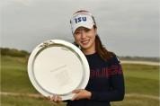 박희영, 7년 만에 LPGA 한국선수 최고령 우승