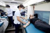 태안군 공직자 74명 '사랑의 헌혈' 동참