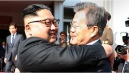 남북 두 정상 26일 판문점 북측 통일각서 2차 회담