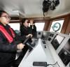 '태안격비호' 항해사·기관사, 여성공무원 승선 화제