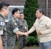 가세로 태안군수,군·경·소방대원 위문