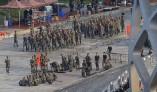 중국, 홍콩사태 무력개입 으름장 주말이 분수령