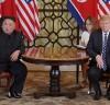【포토】하노이 조미회담 협상 결렬 싸늘해진 두얼굴