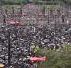 홍콩 주말집회 100만, 평화시위 긴장감 최고조