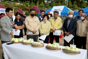 태안군,양파재배 전과정 기계화시범사업 평가회